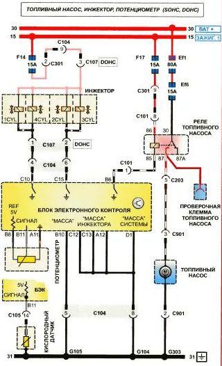 схема холодильника indesit
